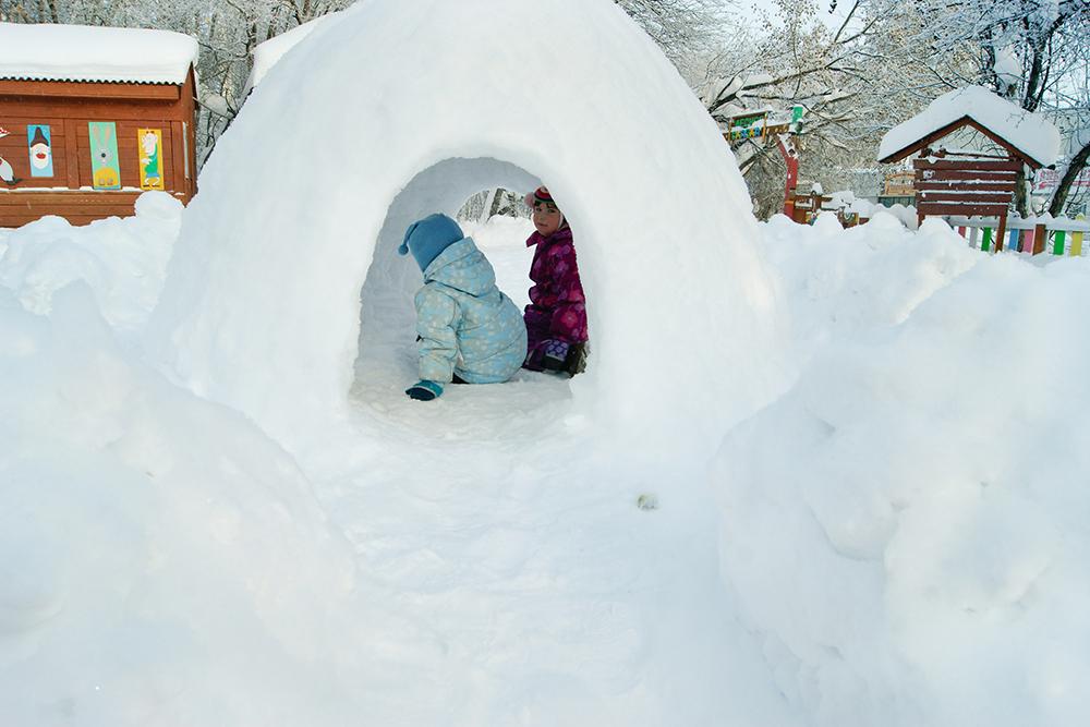 Как сделать снежные пещеры - Ve-sim.ru